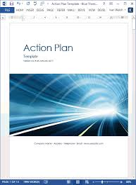Example Sales Action Plan Sample 10 Step Action Plan To Increase Offline Sales Templates Forms