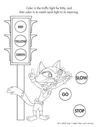 Coloring Stop Light Coloring Page 60 Cool Printable Sign Free To