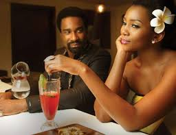 Image result for genevieve nnaji dinner