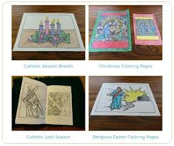 Catholic Liturgical Calendar Activities Our Father Coloring Page