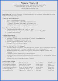 Resume Profile For College Student Resume Summary Examples For Collegedents Profile Objectives