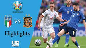 ไฮไลท์ฟุตบอลยูโร 2020 รอบรองชนะเลิศ อิตาลี พบ สเปน - ดูบอลสดออนไลน์ - ผลบอล  - ตารางบอล