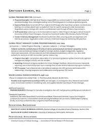Social Compliance Auditor Sample Resume Extraordinary Program Manager Sample Resume Biotech Sample Resume Resume