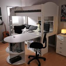 bunk bed with desk and couch. Sale Stompa Casa 4 White High Sleeper With Sofa Bed \u0026 Pull Out Desk Bunk And Couch