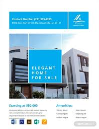 Real Estate Brochure Template Free Free Simple Real Estate Flyer Template Word Psd Apple