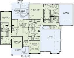 large ranch home plans best of 1002 best house plans images on