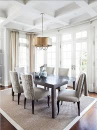 modern mansion dining room. Modern House Dining Room - With Grey Chairs And Rug Mansion