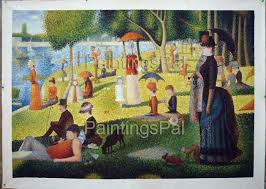 stock painting reion 265 la grande jatte by george seurat and reproduced by paintingspal artist