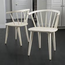 white wood dining chairs. Christopher Knight Home Countryside Rounded Back Spindle Off White Wood Dining Chair Chairs G