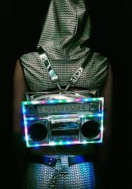 Light Up Radio Boombox Light Up Bag Boombox Retro Radios Radio Design