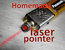 introduction homemade laser pointer