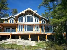 luxury lake home plans house waterfront custom modern uncategorized