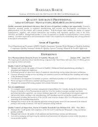 Pharmaceutical Quality Control Resume Sample Quality Control Officer Sample Resume Shalomhouseus 3