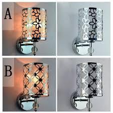 <b>modern</b> creative pastorale iron <b>crystal wall light</b> hallway bedroom ...