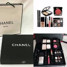 best offer chanel 9 in 1 make up set free box free paper bag hot lazada msia