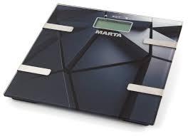 Весы электронные <b>MARTA MT-1675 черный</b> гранит — купить по ...