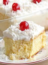 Coconut Cream Poke Cake Recipe Sugar Apron