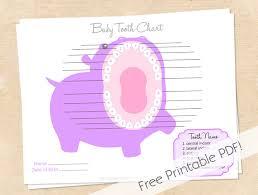 Green Papaya Mama Free Printable Tooth Chart