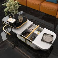 41 nesting coffee table with