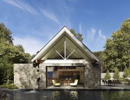 pool house by randall mars architects