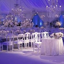Sparkles Event Decor And Design Simple A Winter Wonderland Scene With Crystal Chandeliers And Beautiful
