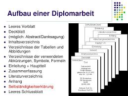 Diplomarbeit Das Meisterst Ck Ppt Herunterladen