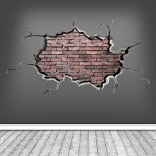 3d ed bricked brick wall art