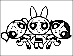 Small Picture Powerpuff Girls Coloring Pages Color Zini