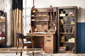 Pirate Themed Bedroom Furniture Pirate Themed Desk With Upper Unit For Children Liquidation Sale