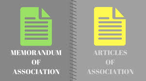 Memorandum Of Association And Articles Of Association (Detailed ...