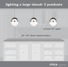 how to hang pendant lights over an island