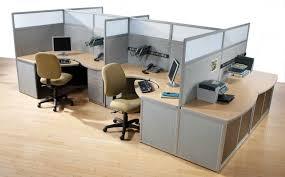 Fabulous Wooden Floor Tile Design Plus Workspace With Partition ...