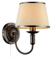 <b>Бра Arte Lamp</b> Alice A3579AP-1AB, с выключателем, 60 Вт ...