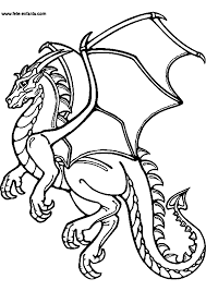 Coloriage De Dragon Agressif Pour Colorier L Duilawyerlosangeles