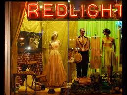 Red Light Vintage Costume Manorhouse Glamour Red Light Vintage