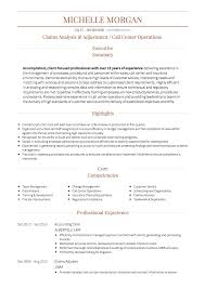 Call Centre Cv Resume Call Center Magdalene Project Org