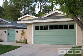 dynamic garage doorsCustom Designed Composite Wood Garage Door  Gate Project  Paint