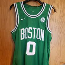 Authentic boston celtics jerseys are at the official online store of the national basketball association. 2018 Boston Celtics Jayson Tatum Jersey Size Large Depop
