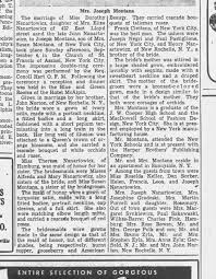 Nanartowicz - Montana Wedding 9/4/1949 Church of St Francis of Assisi in  New York City NY Part 3 - Newspapers.com