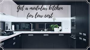 Get A Low Budget Modular Kitchen For Your Home 4 Attractive Designs
