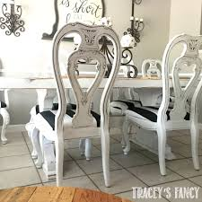 black and white glazed chair tracey s fancy