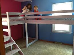diy toddler loft plans twin with storage ideas size slide easy scenic childrens designs ana white