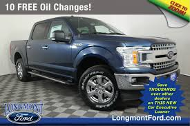 New 2018 Ford F-150 XLT Crew Cab Pickup in Longmont #18T1468 ...