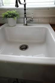 white porcelain sink. The Cleaning Ninja Method For White Porcelain Sink This Works Better And Faster On
