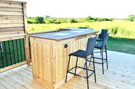 patio bar plans outstanding build how to a your own outdoor lovely diy