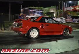 1986 Toyota MR2 1/4 mile trap speeds 0-60 - DragTimes.com