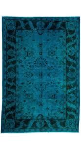 overdyed turkish rug usak ousak