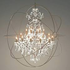orb crystal chandelier interesting with crystals ideas large font lighting foucault