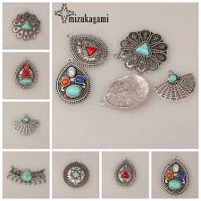 <b>2pcs</b>/<b>lot</b> 65*15MM Big Hole Retro <b>Zinc</b> Silver <b>Alloy</b> Feather Charms ...