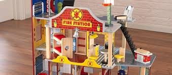 kidkraft deluxe fire station set deluxe fire rescue set kidkraft deluxe fire station rescue playset